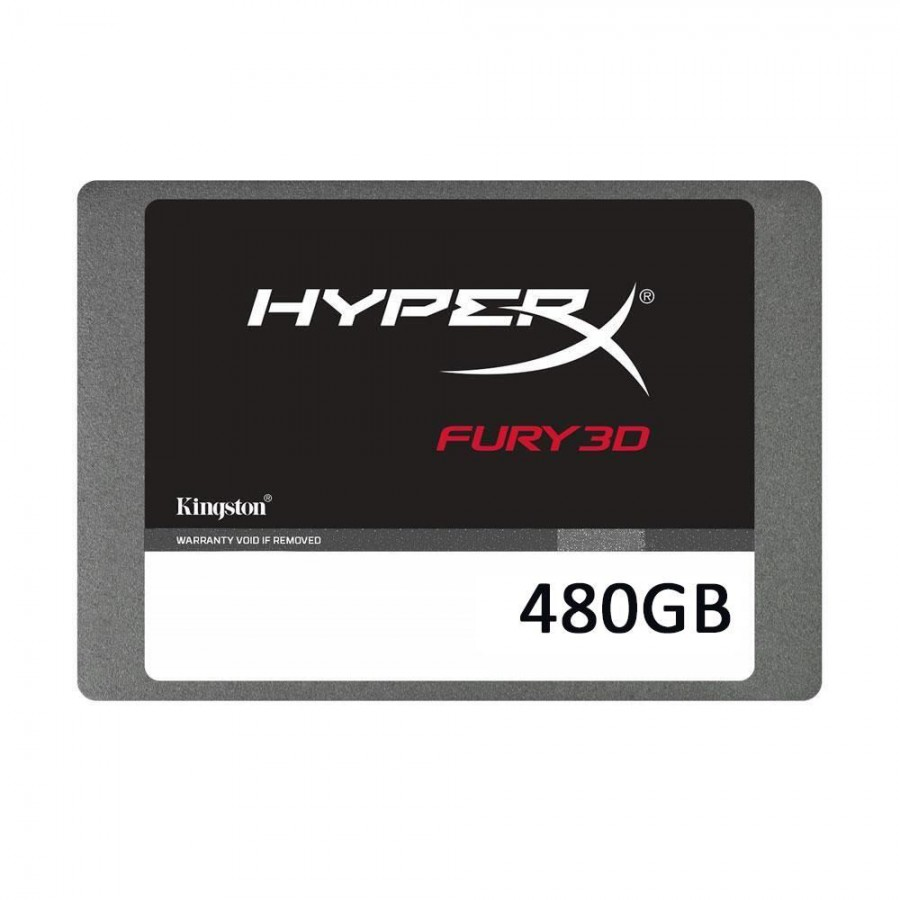 480GB KINGSTON HYPERX FURY 3D 500/500MBs SSD KC-S44480-6F