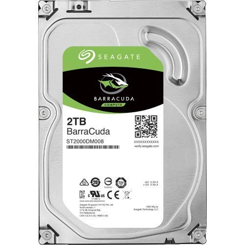 2TB SEAGATE BARRACUDA 7200RPM 256MB ST2000DM008