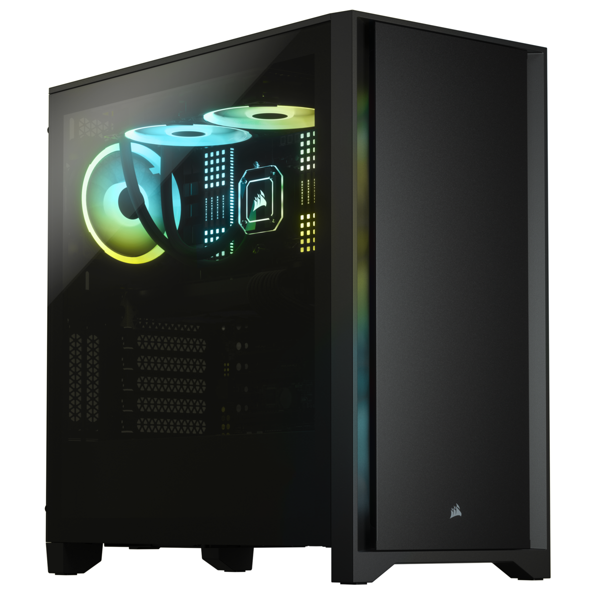CORSAIR 4000D CC-9011198-WW BLACK KASA