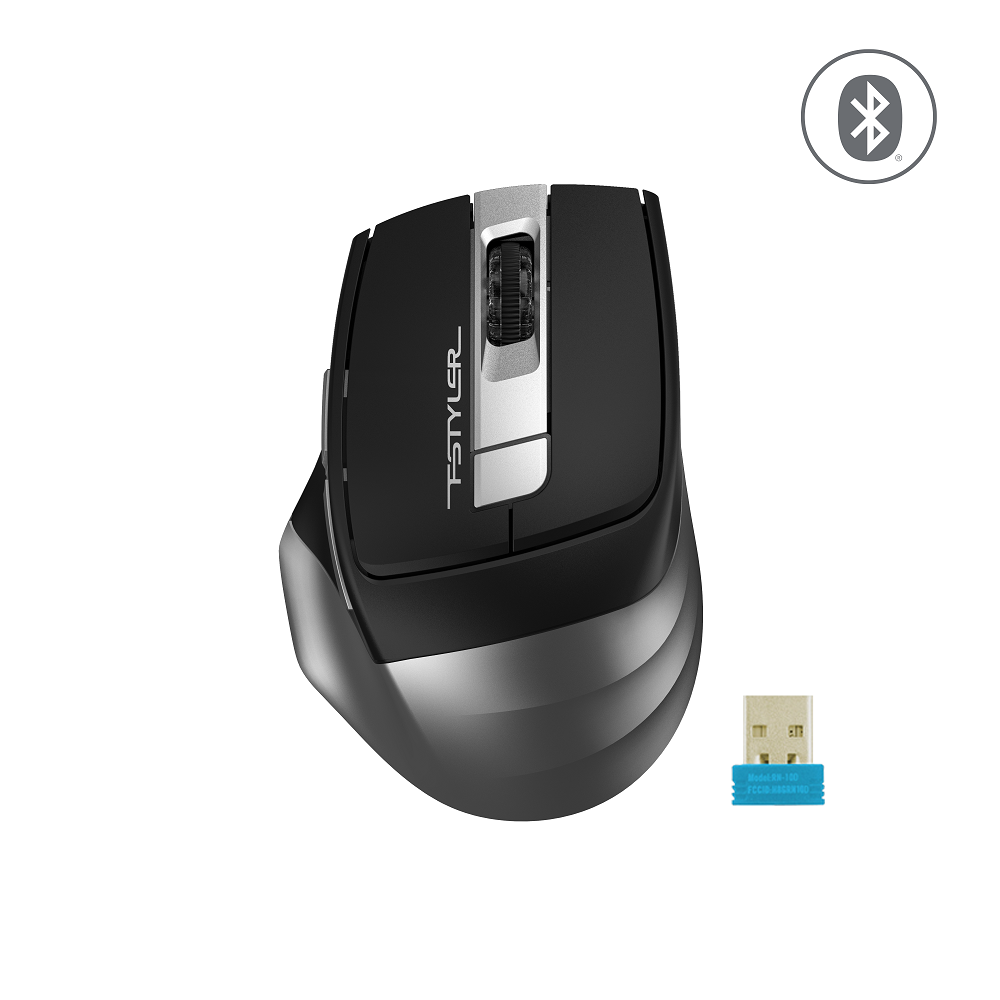 A4 TECH FB35 OPTIK MOUSE BLUETOOTH+NANO USB GRİ