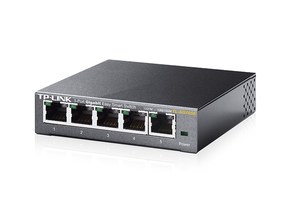 TP-LINK TL-SG105E 5PORT EASY SMART GBIT SWITCH