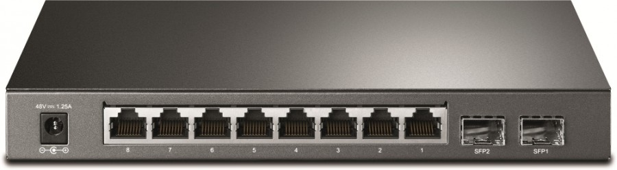 TP-LINK TL-SG2210P 10P GIGABIT POE SMART SWITCH + 2SFP SLOT
