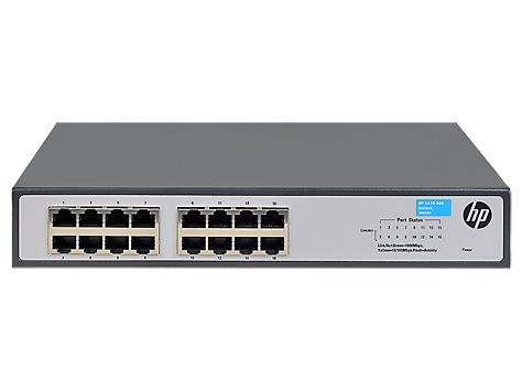HP JH016A 1420-16G 16PORT GIGABIT SWITCH(J9560)